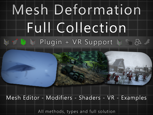 Mesh Deformation Full Collection package
