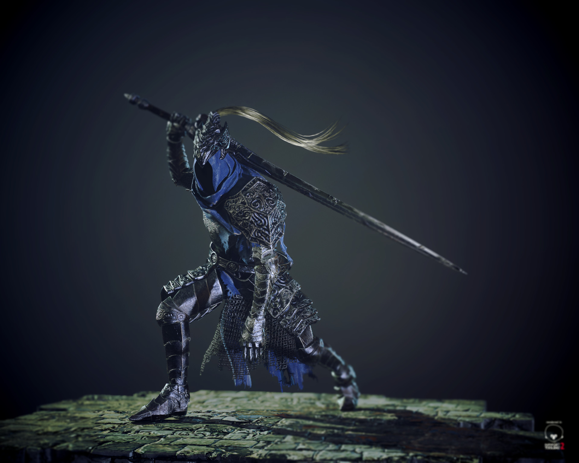 Artorias, The Abiss Walker-Dark Souls - Unity Connect