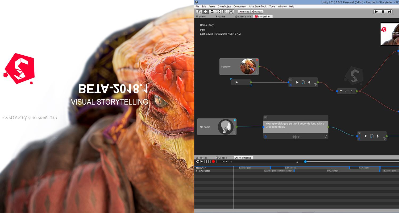 STORYTELLER (Visual Storytelling)
