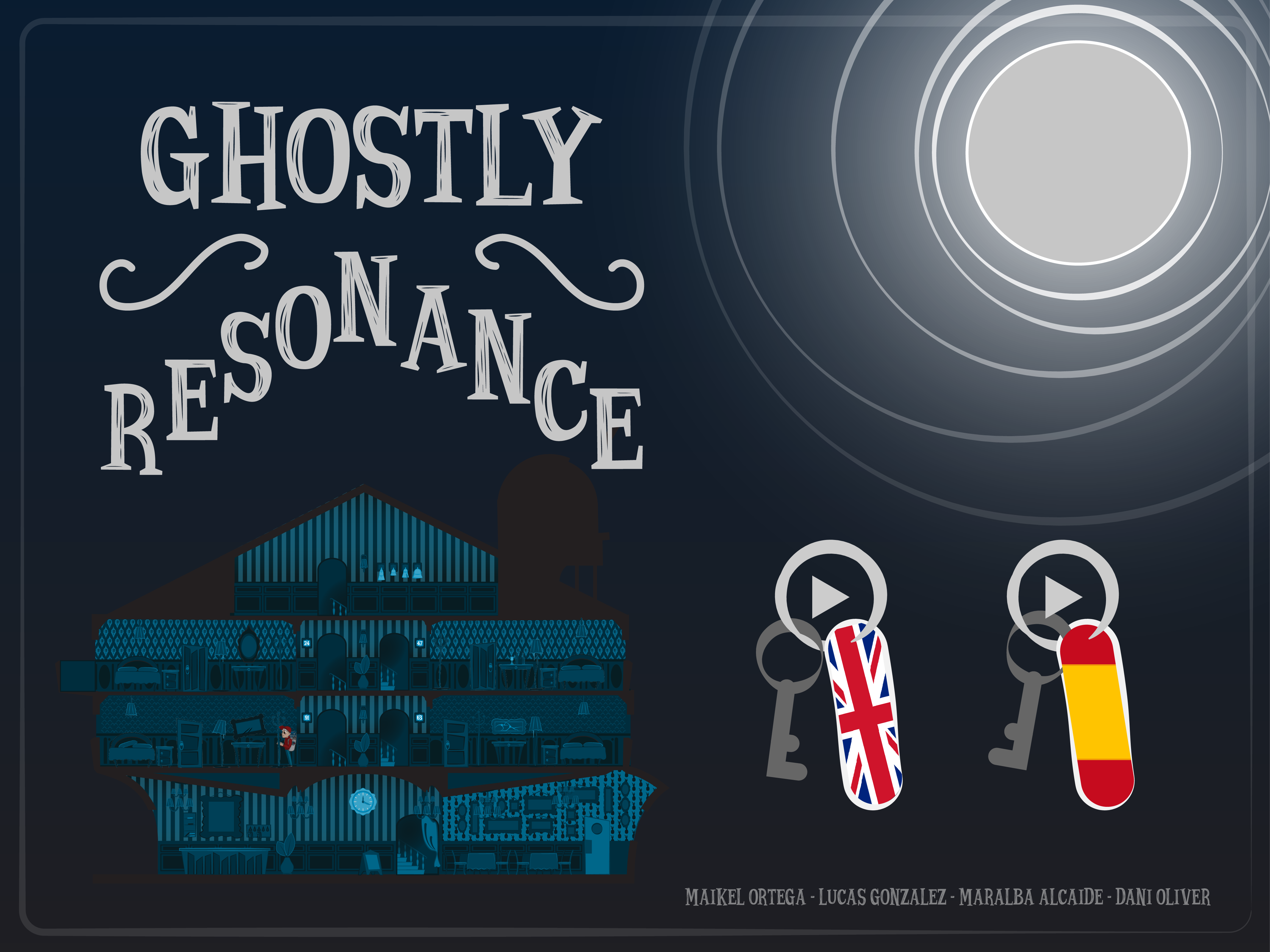 """Ghosty Resonance"" - Global Game Jam"