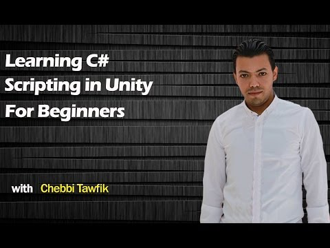 1-Learning c# scripting in Unity 3d