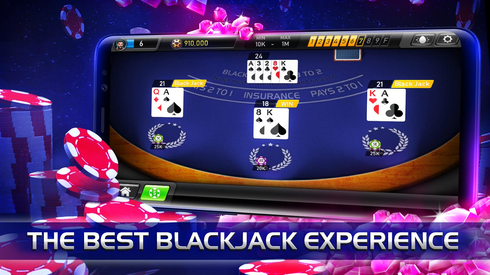 Blackjack Diamond Series: free casino card game