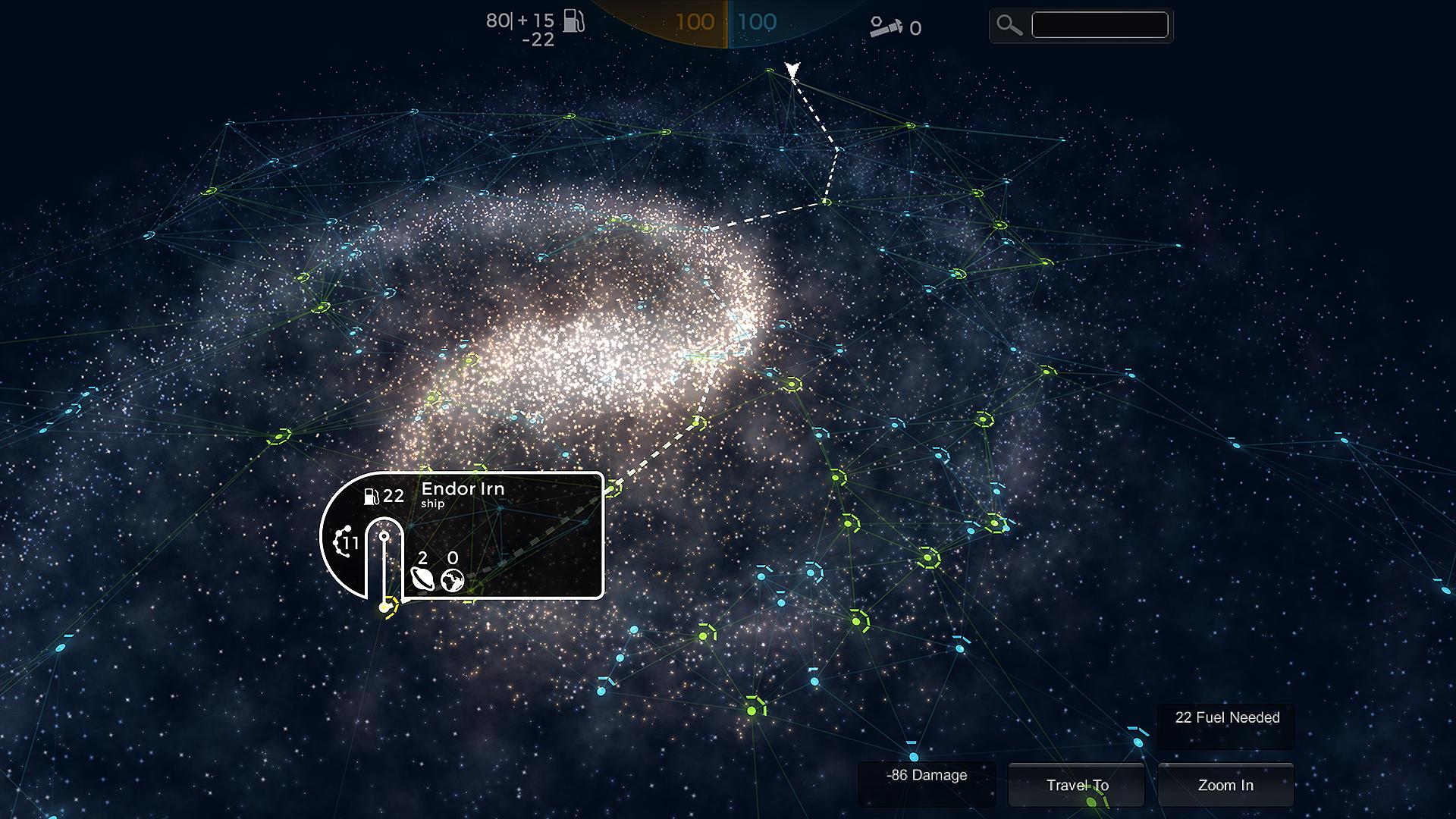 Unity 3D Galaxy Map