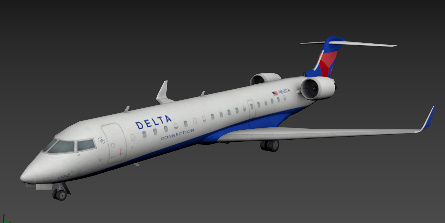 Low-poly Planes for FSX