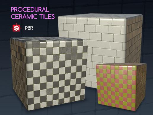 Procedural Ceramic Tiles