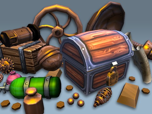 Treasure Art Pack