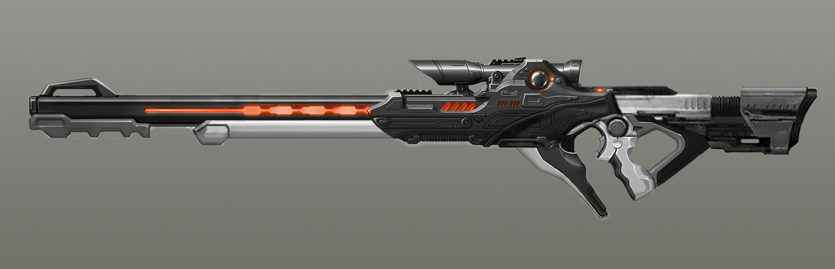 SciFi Sniper - From Concept to Game Ready