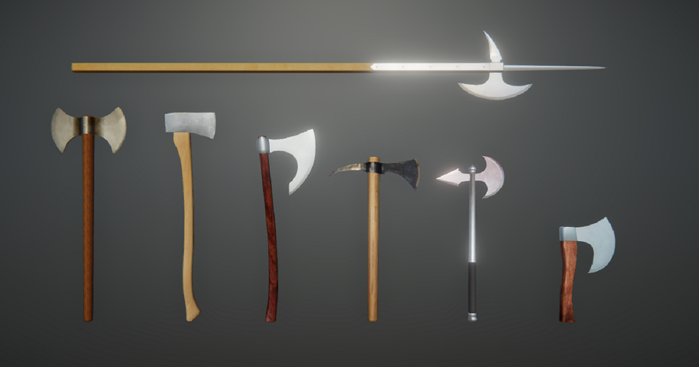 Battle Axes Pack