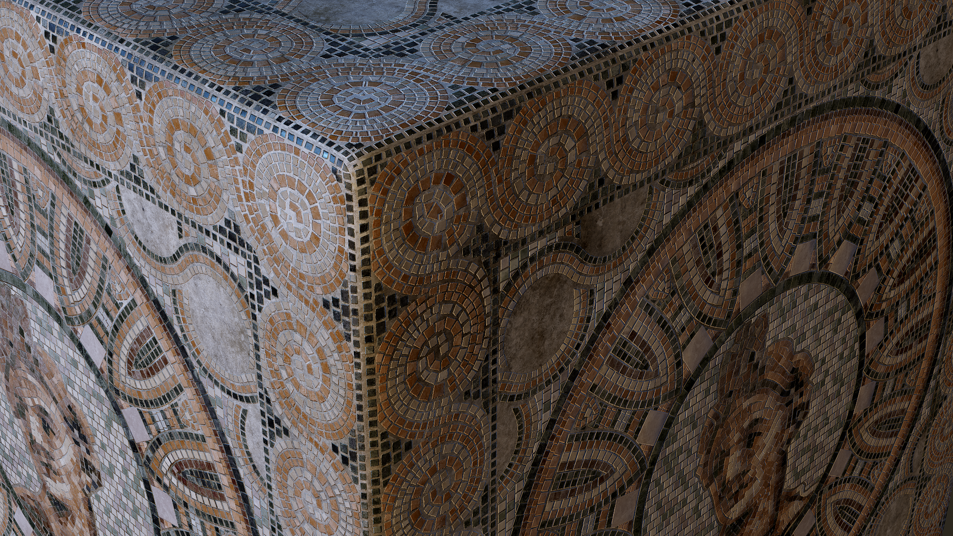Mosaic Tile Floor - Substance Material Tutorial