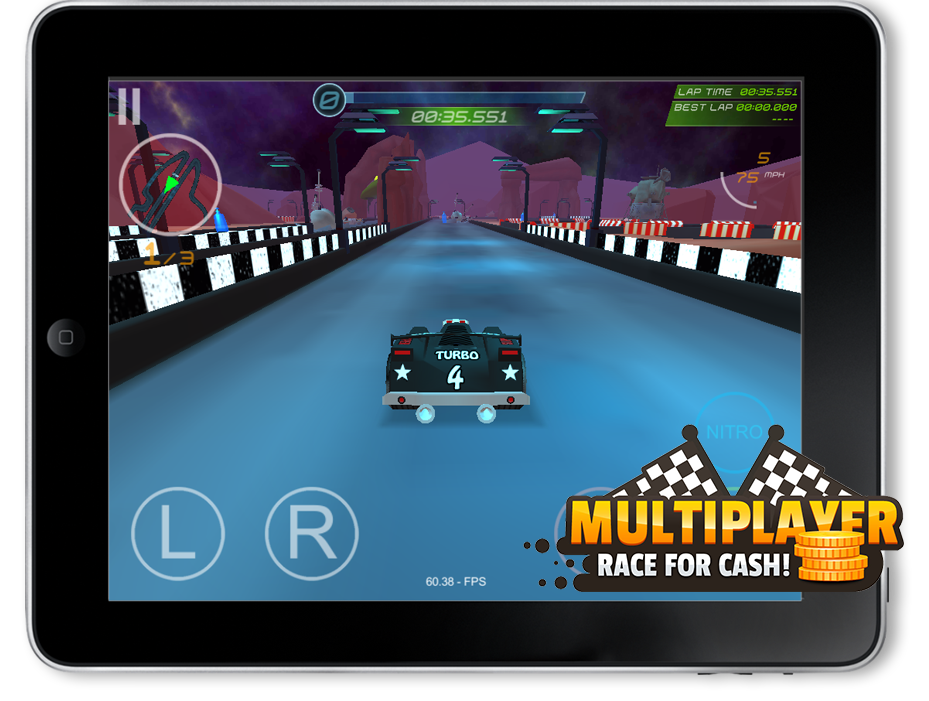 MULTIPLAYER. Race for Cash!