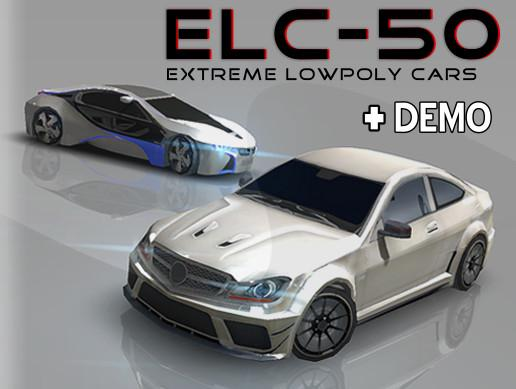 Extreme Lowpoly Cars