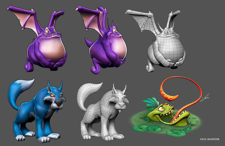 Sabrewulf Characters (Fan Art)