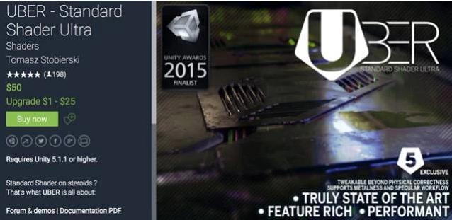 UBER - Standard Shader Ultra介绍