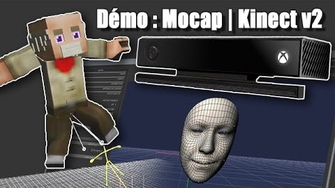3D animation project to use Kinect V2 as Mocap tool