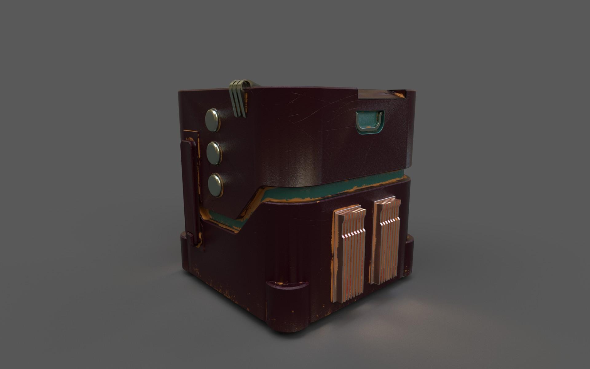 Old sc-fi box