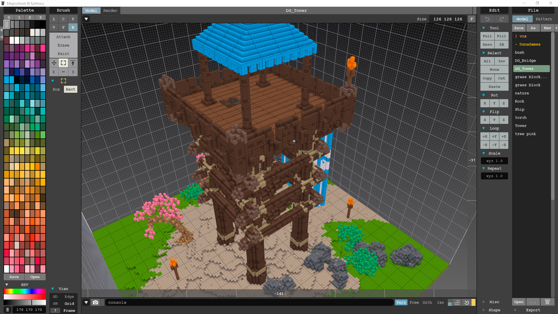 Voxel Tower - Unity Connect