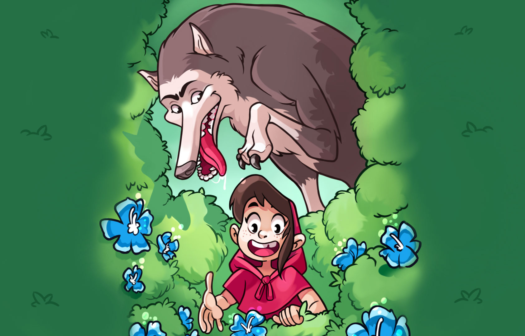 Red Riding Hood Interactive Story