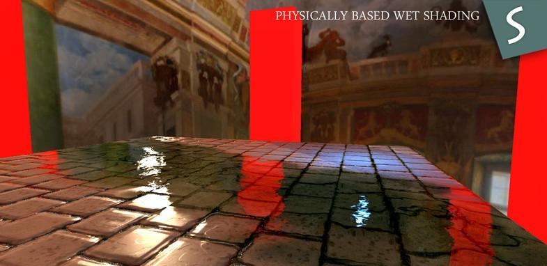 Procedural PBR Wet shader