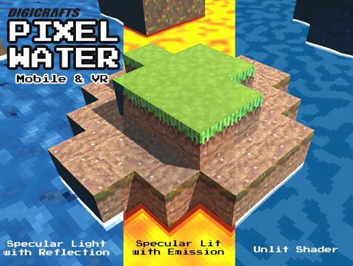 Pixel Water Shader