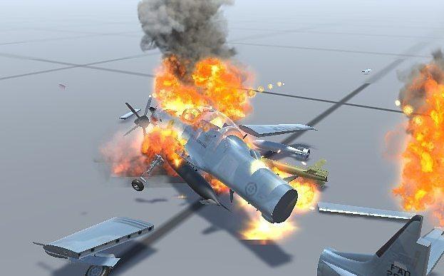 Silantro Flight Simulator: Health and Destruction System