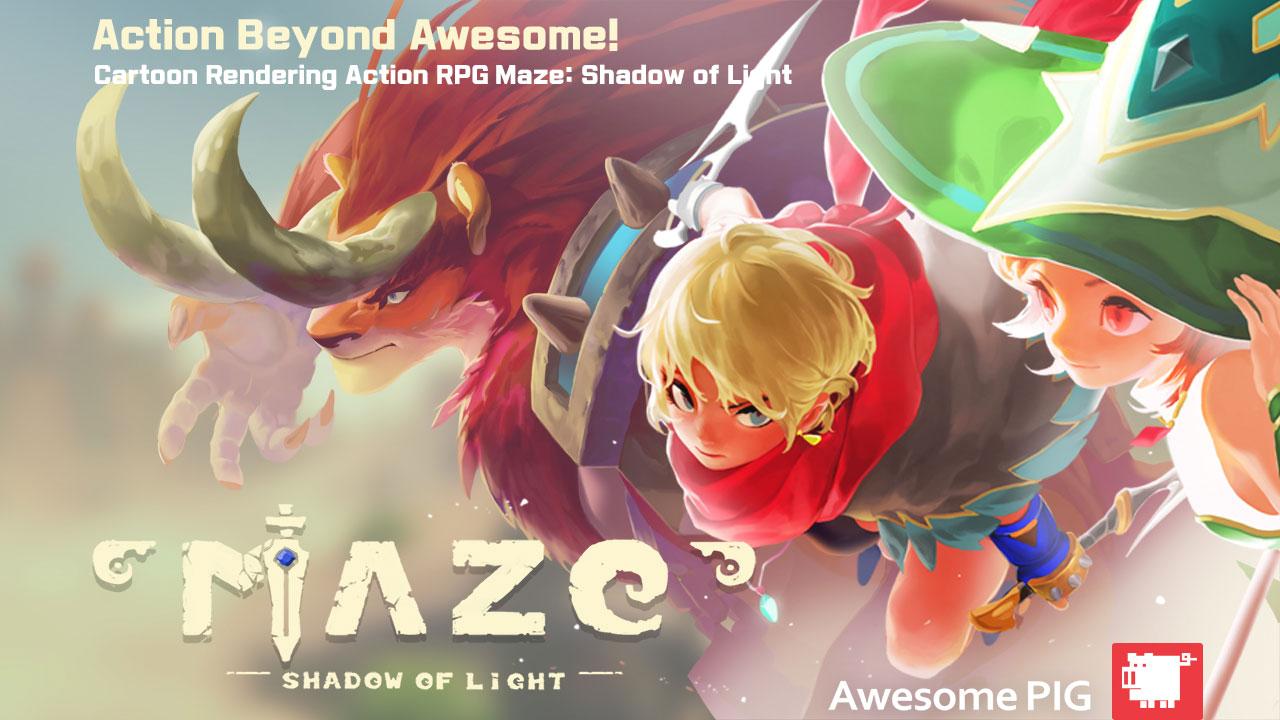 Maze : Showdow of Light