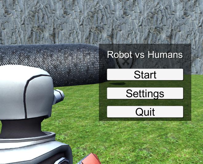 Robot Vs. Humans