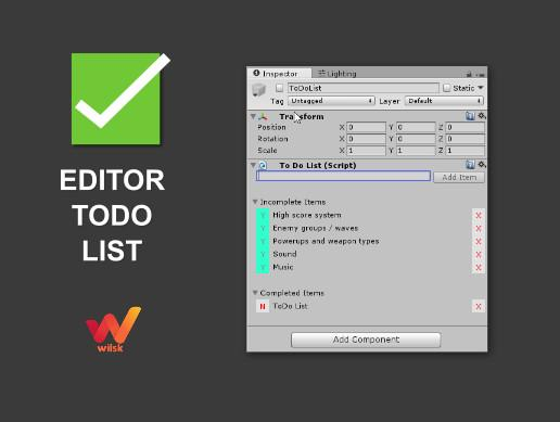Editor To Do List
