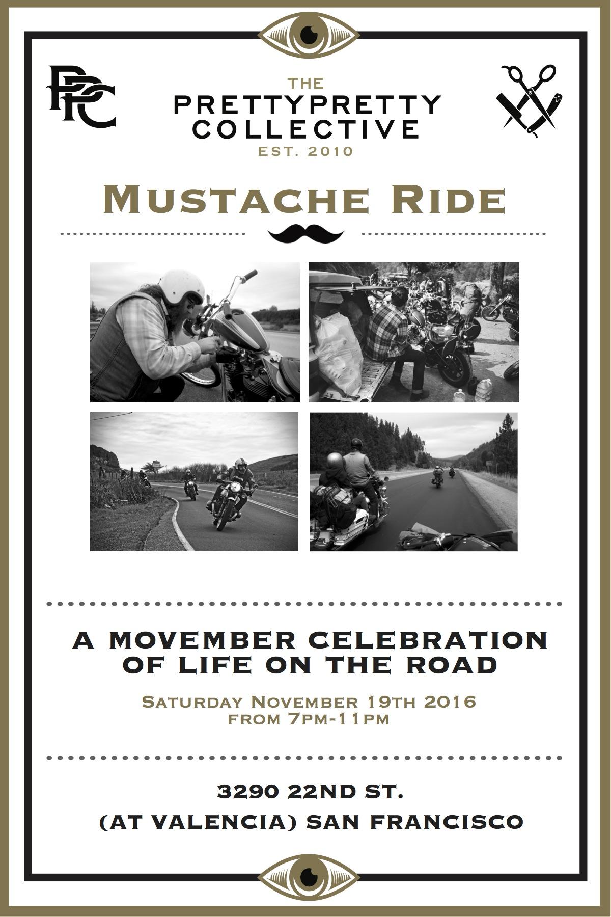 Mustache Ride Group Photo Show