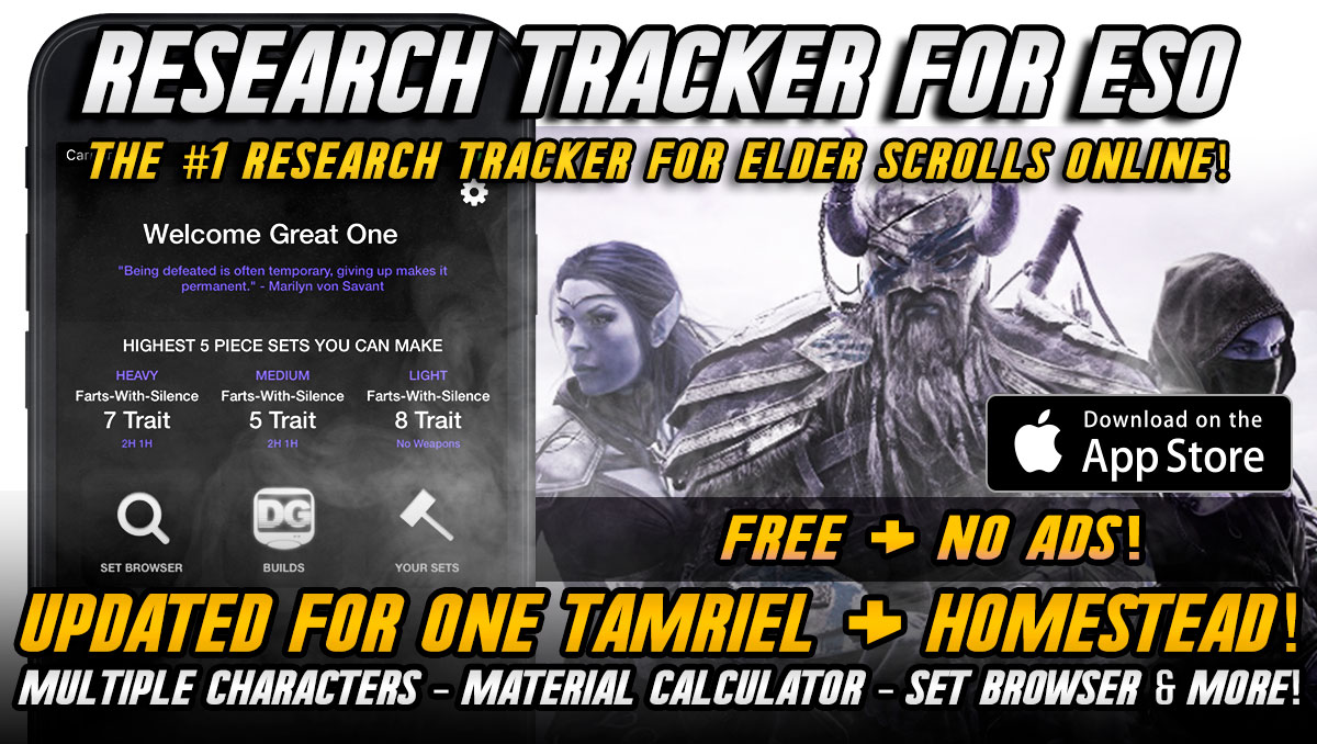 Research Tracker for ESO