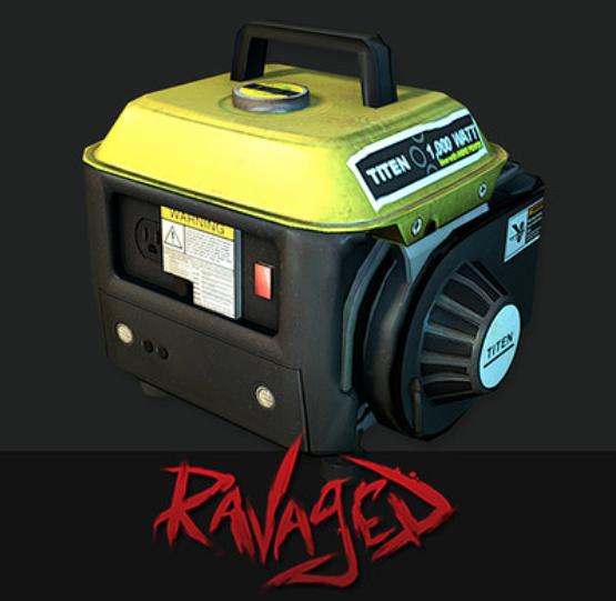 Ravaged DLC Prop Assets
