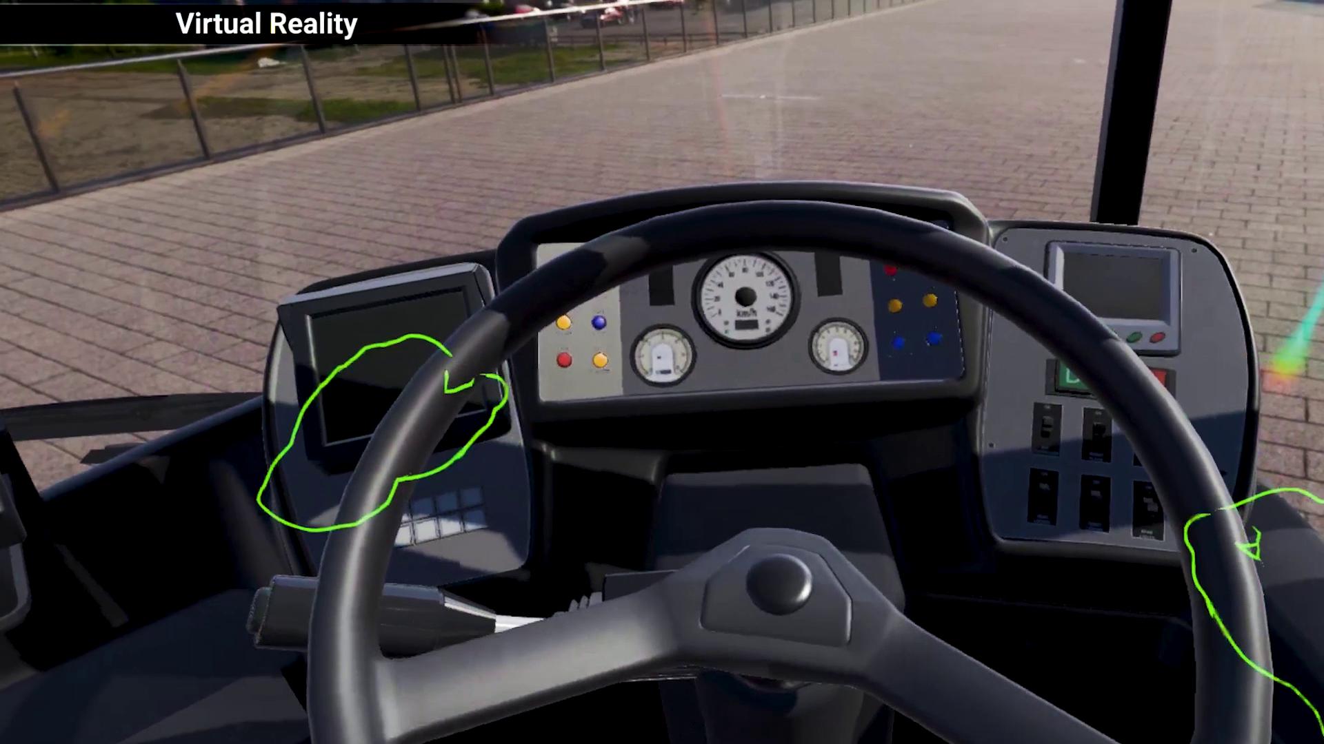 VR Train & Bus Driver training