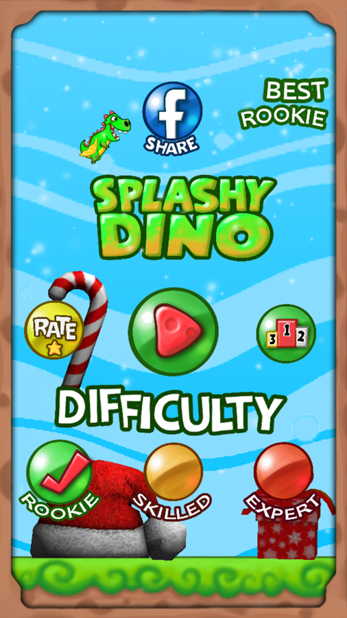 Splashy Dino