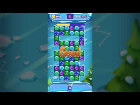 Frost Gems Saga Match 3 puzzle