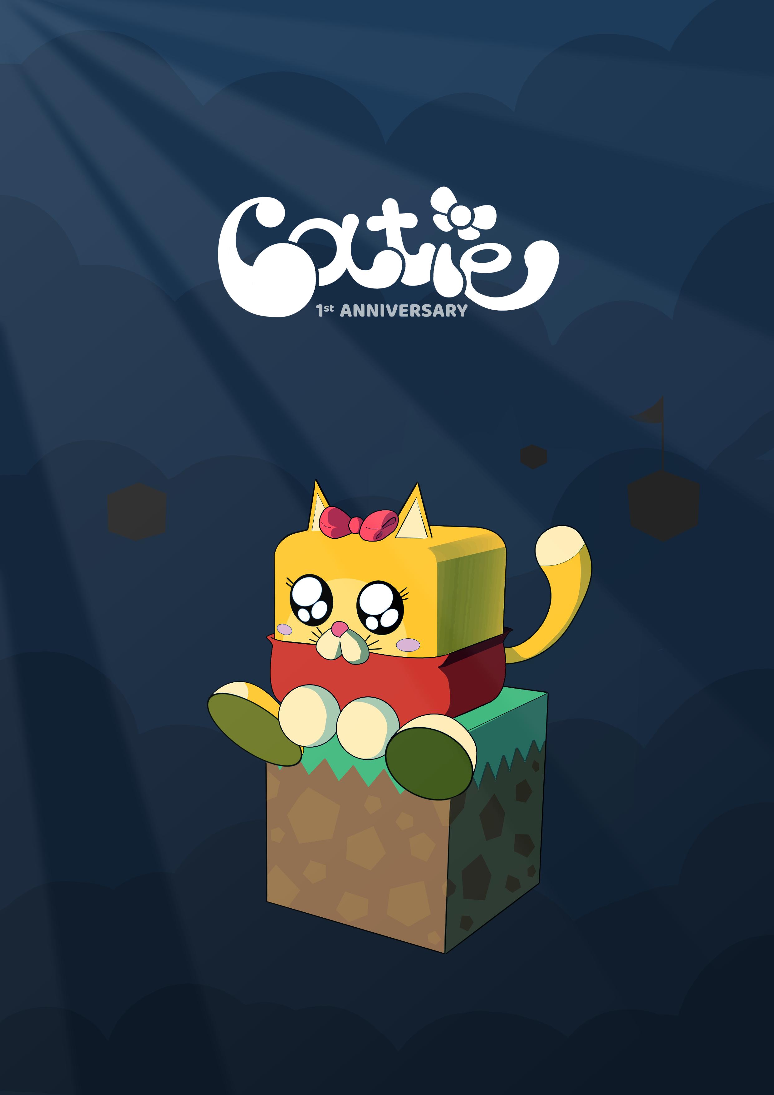 """Catie"" 1st Anniversary illustration"