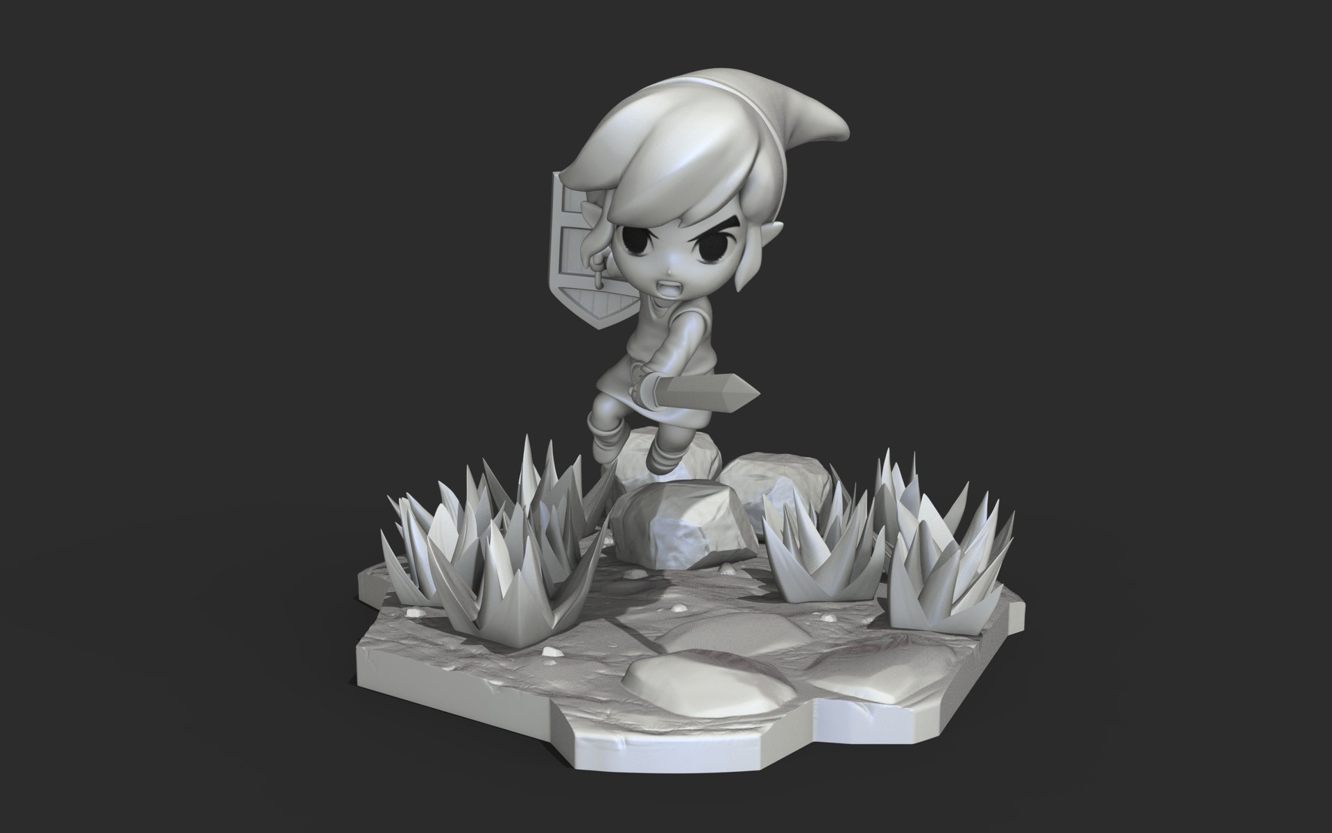 Sculpt GameCharacter