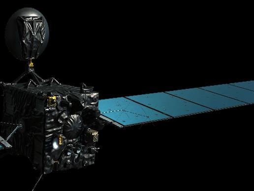 Rosetta satellite 3d model