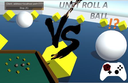 MULTIPLAYER ROLL A BALL?!