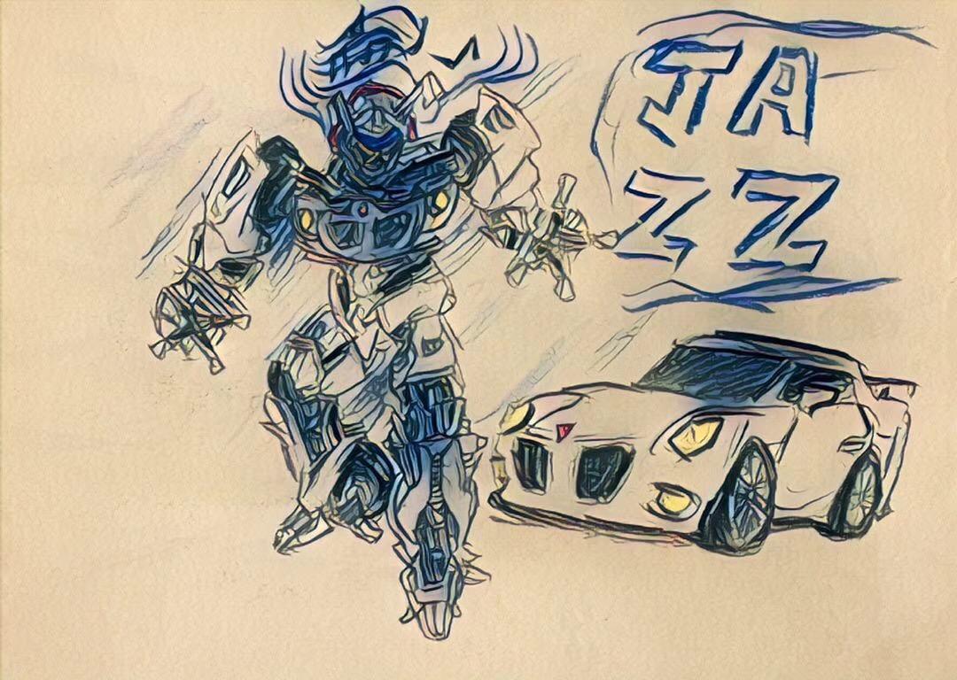 sketch transformers Jazz