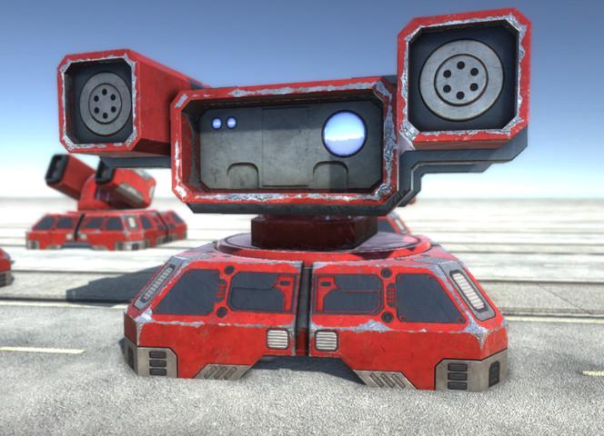 RTS Sci-fi turrets