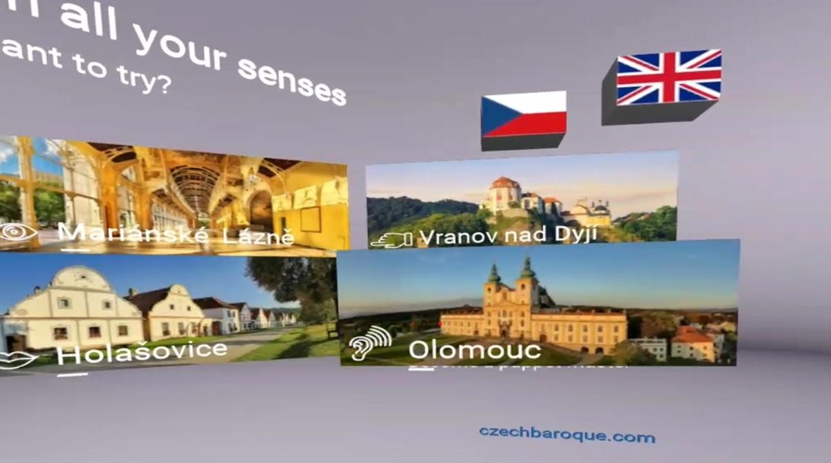 CzechTourism 360 Experience Gear VR app