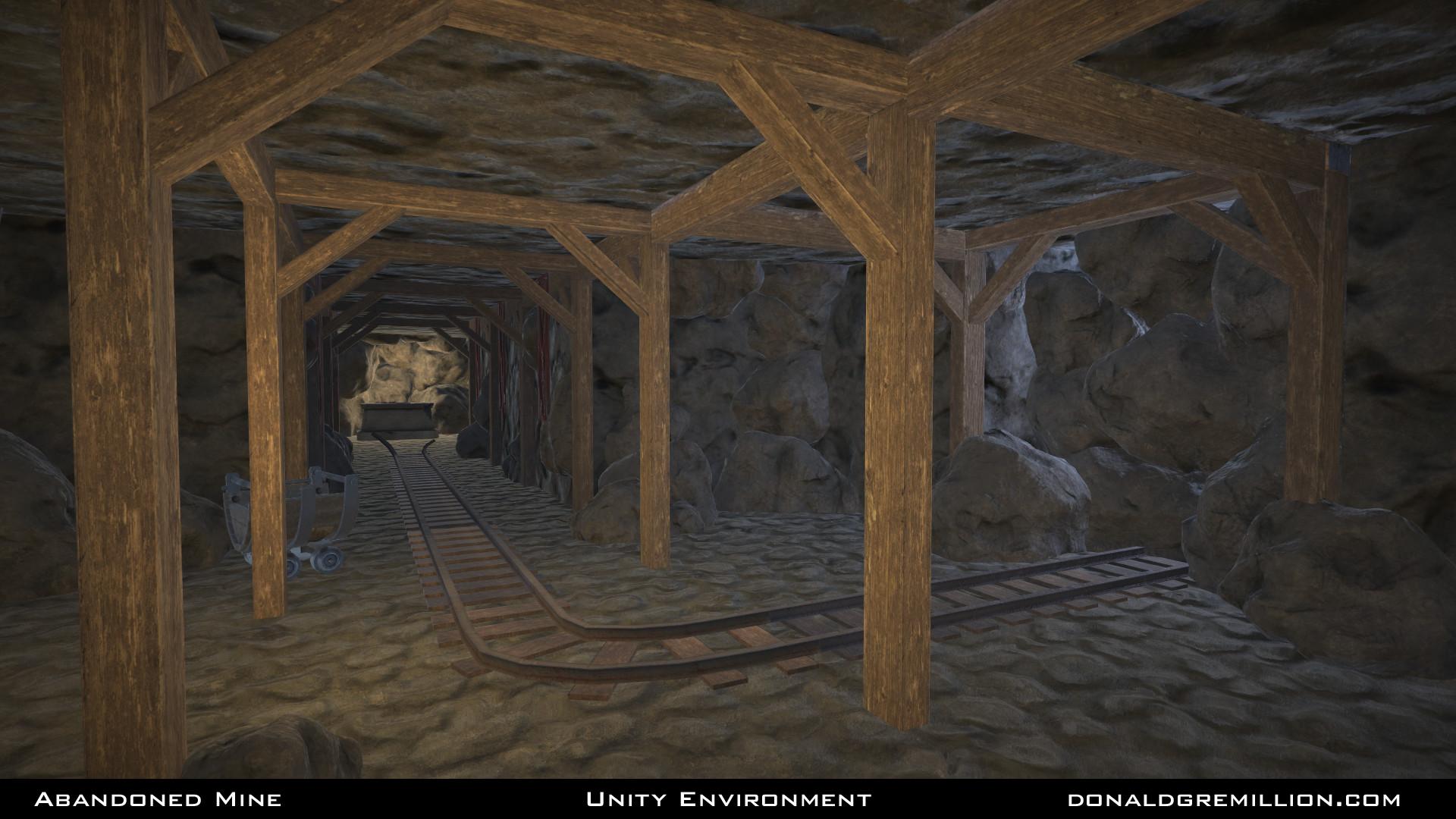 Abandoned Mine - Unity Environment