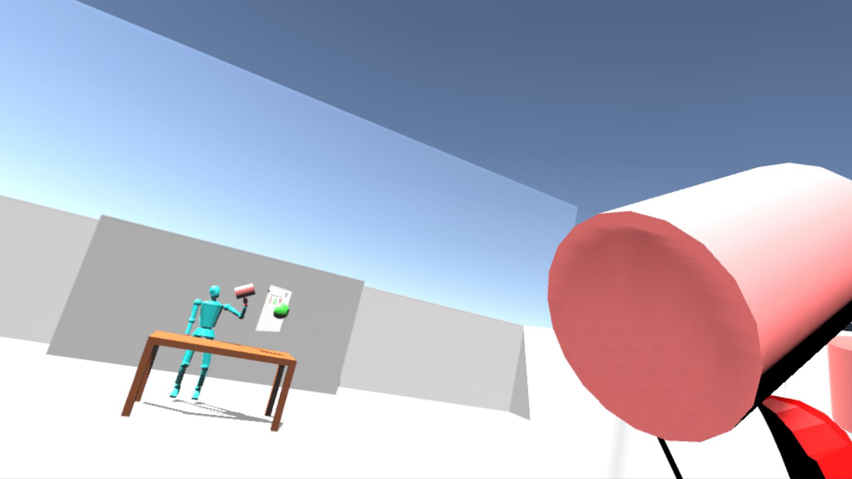 Multiplayer VR Avateering