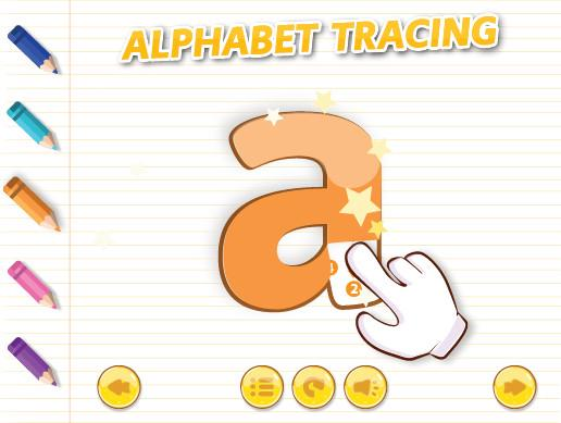 English Alphabet Tracing a-z