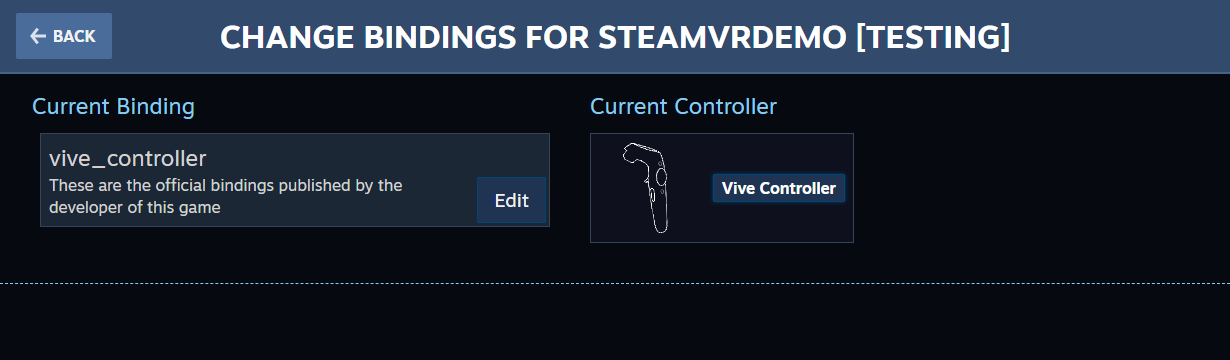 SteamVR 2 0 Starter/Migration & Action Sets - Unity Connect