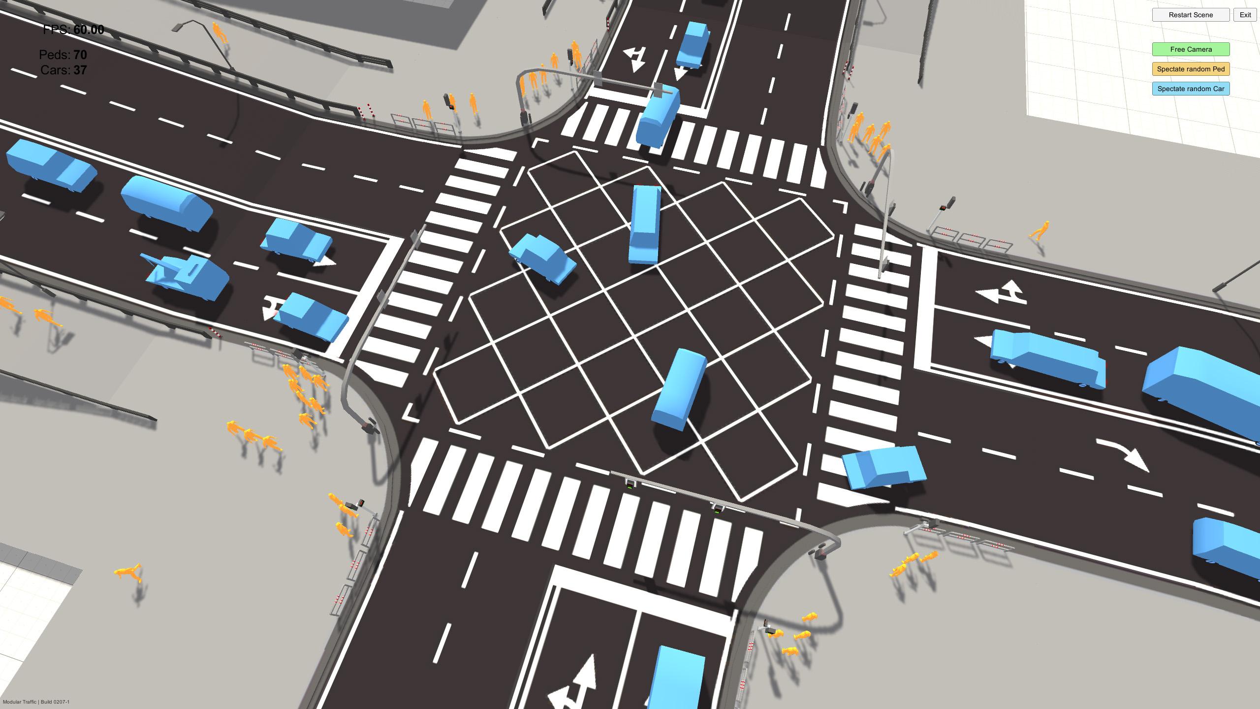 Modular Traffic for Playmaker