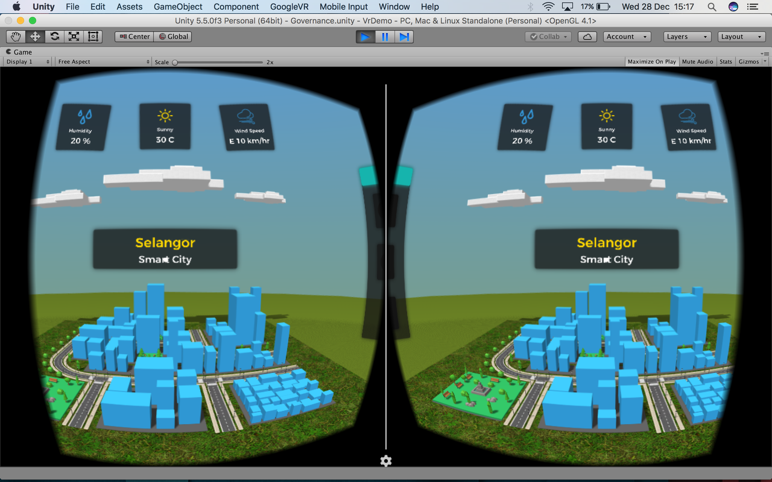 3d Data Visualisation (VR/AR)