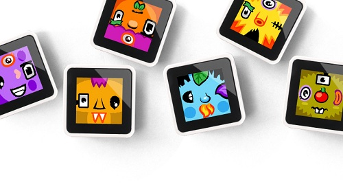 Face Charades (Sifteo Cubes)