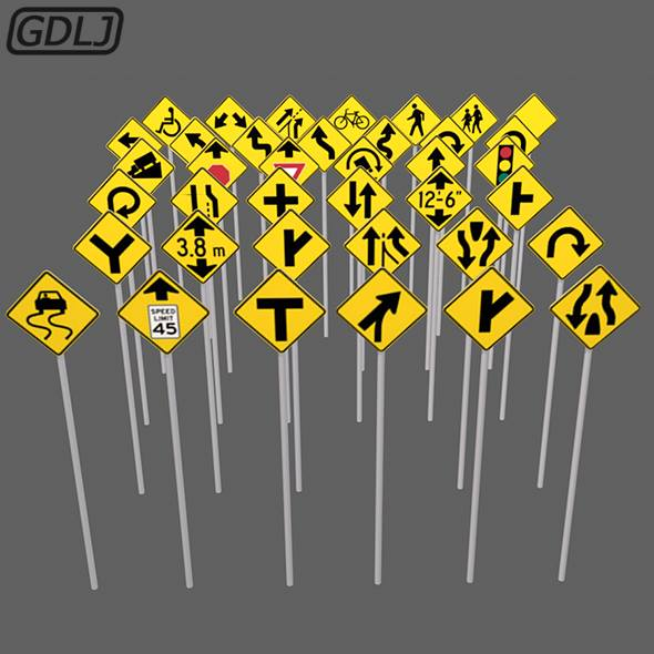 38 Road signs #game_assets