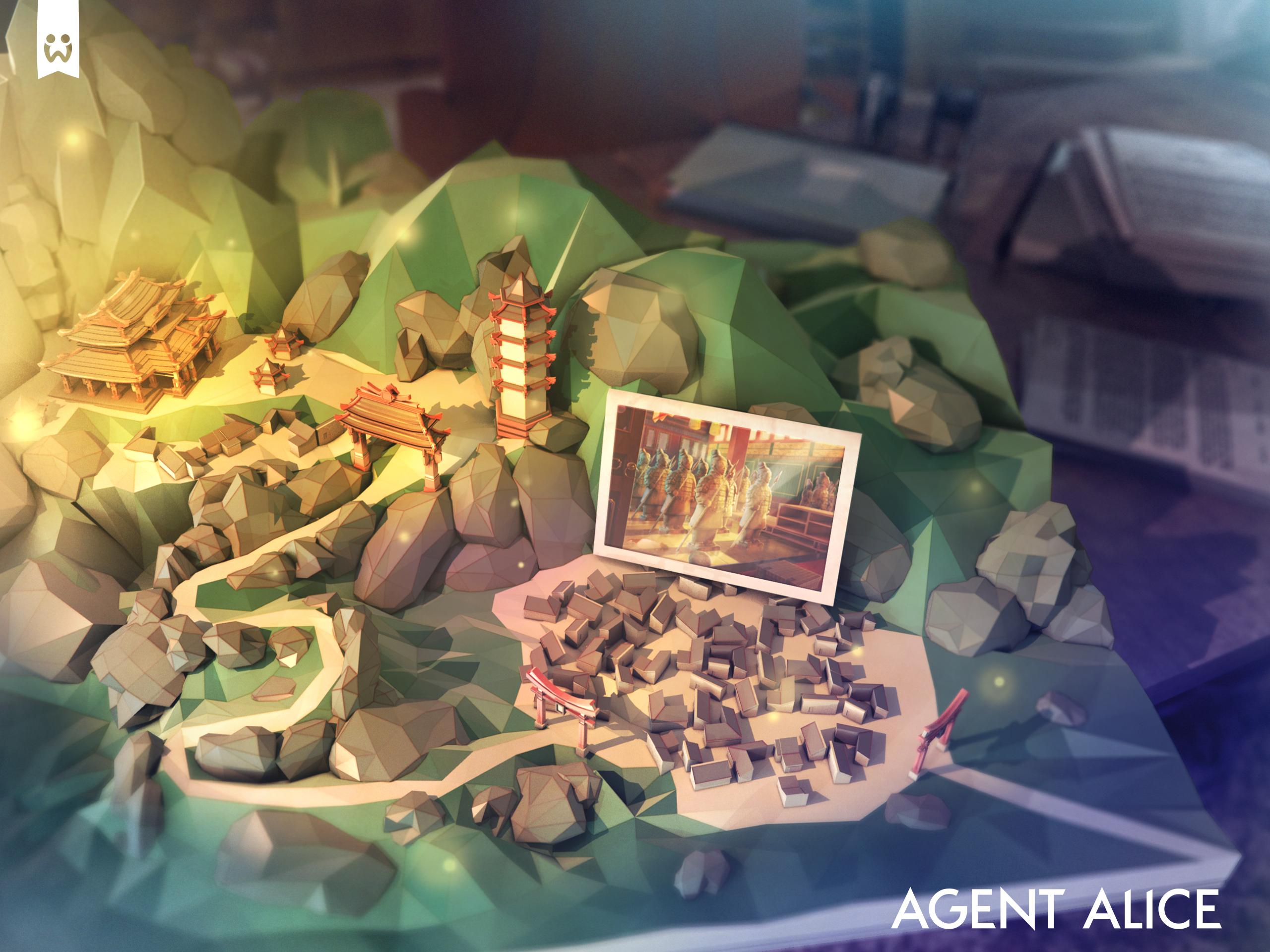 Agent Alice | Map Art