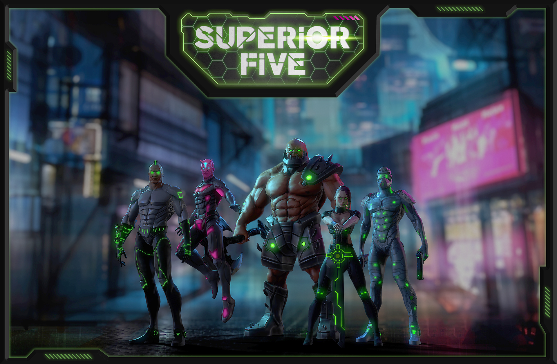 Superior Five Character Package